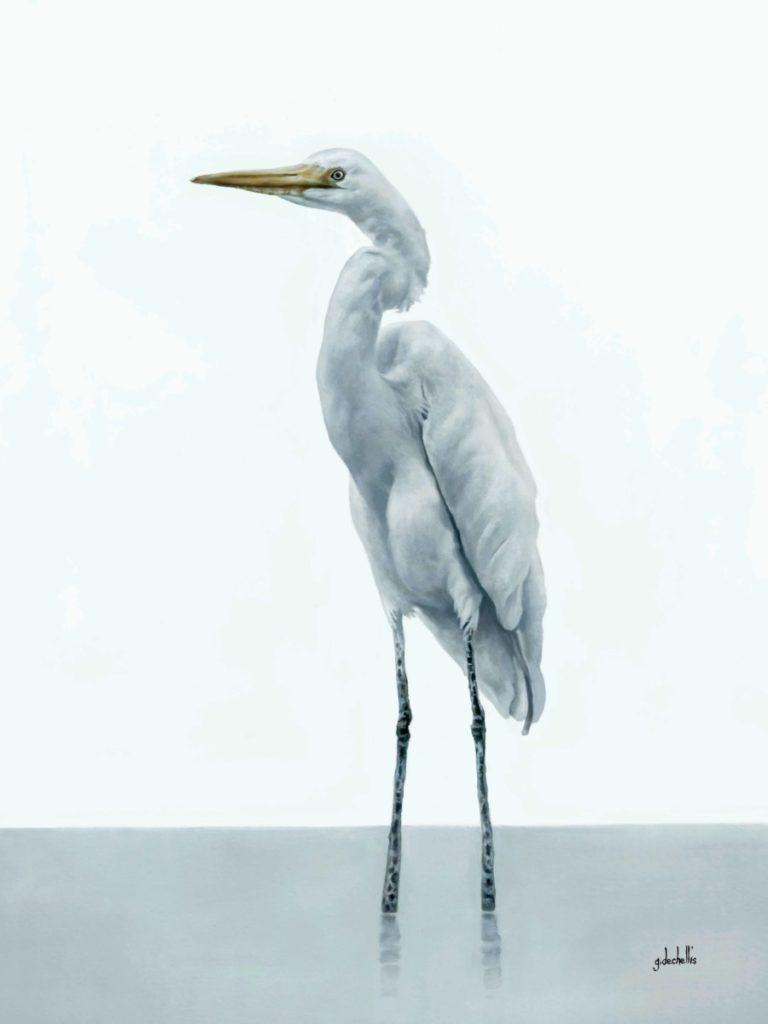 White Egret 1 - CoastLine Art